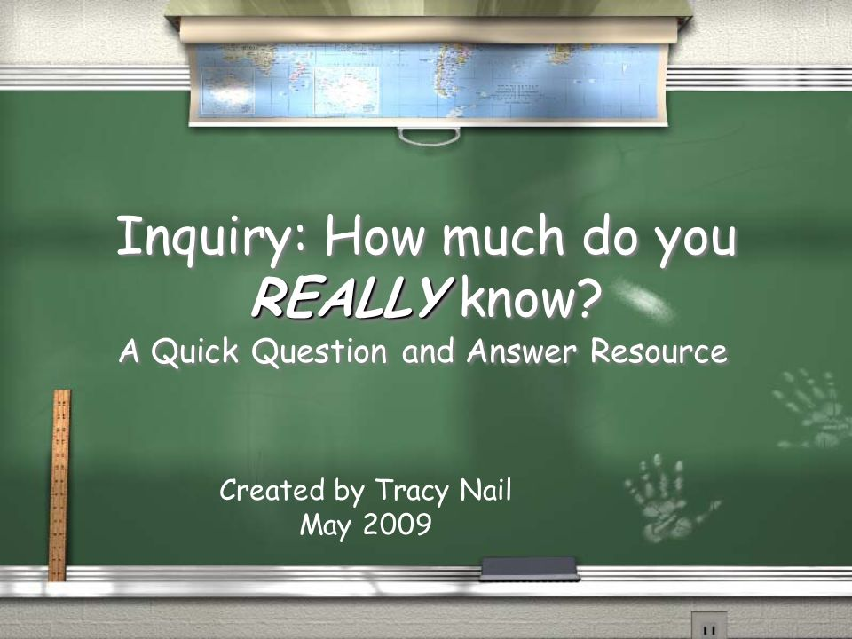 How are students assessed when using inquiry.