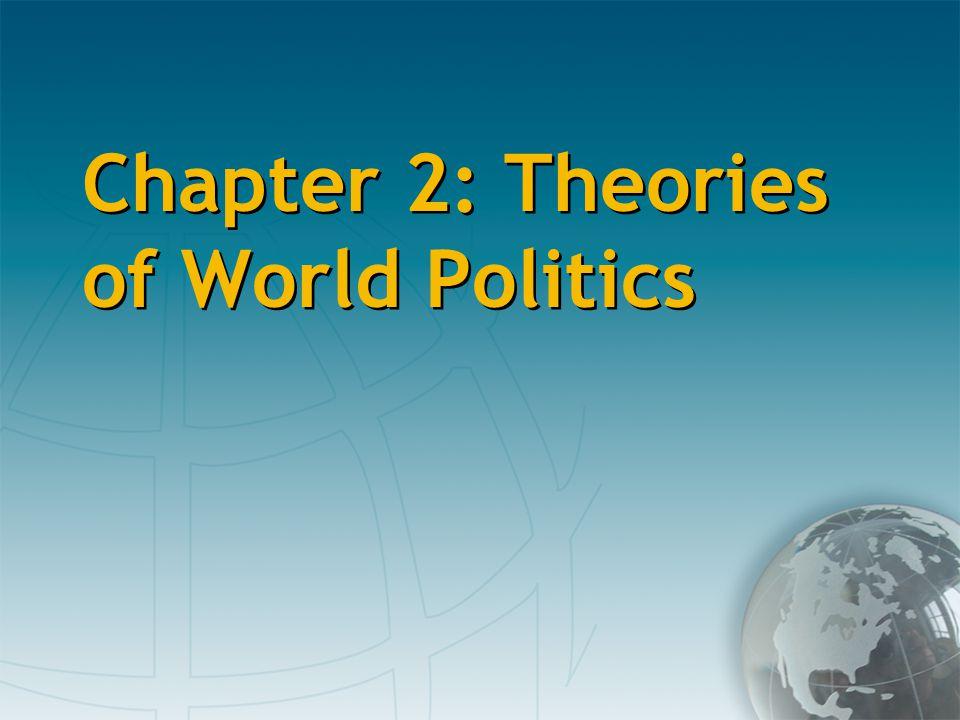 Chapter 2: Theories of World Politics