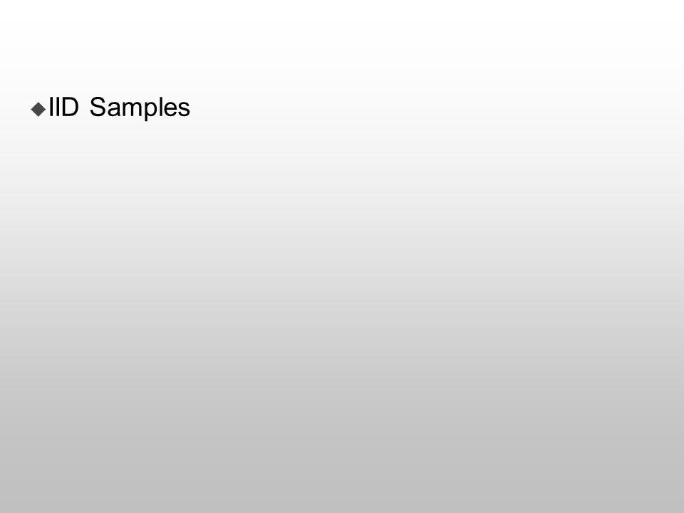  IID Samples