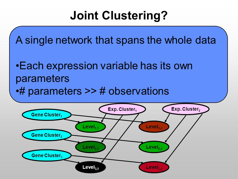 Joint Clustering.