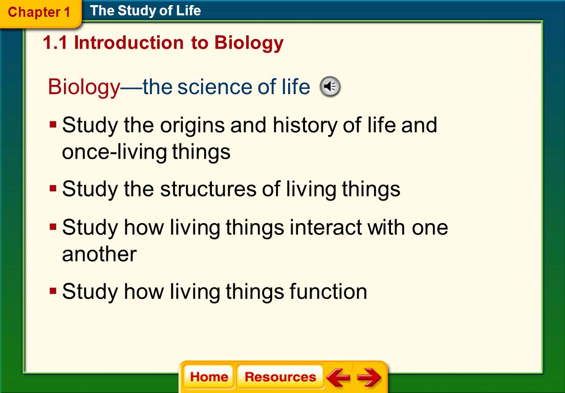 The Study of Life What do issues such as AIDS, global warming, genetic engineering, and cloning have in common.