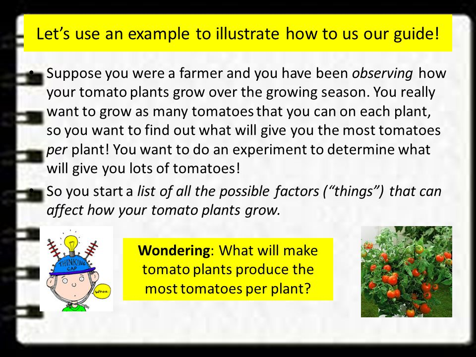 Let's use an example to illustrate how to us our guide.