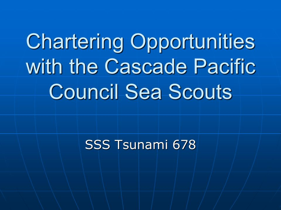 History Sea Scouts was started just 2 years after Boy Scouts in 1912.