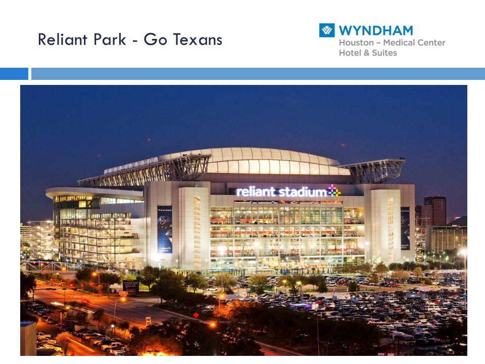 Reliant Park - Go Texans