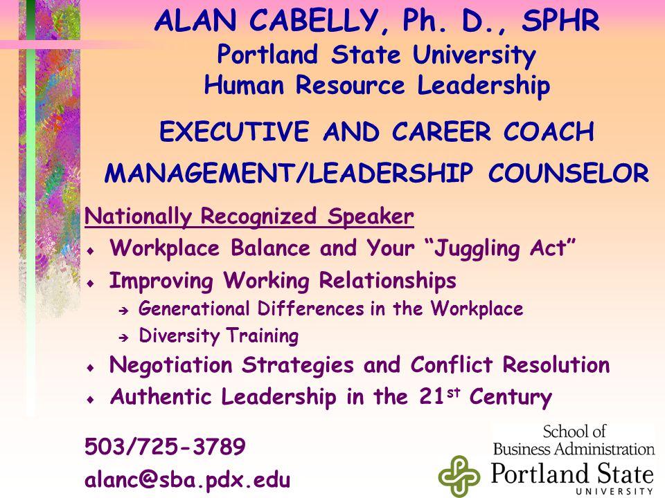 ALAN CABELLY, Ph.