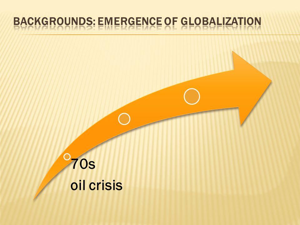 70s oil crisis