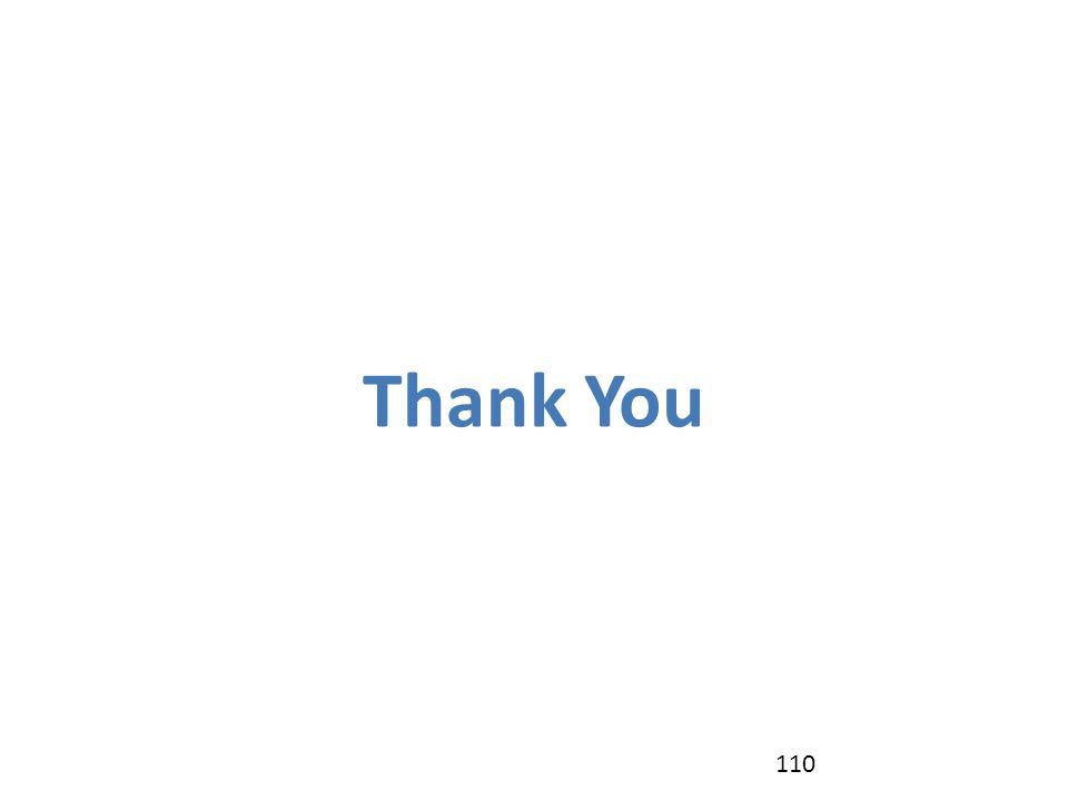 Thank You 110