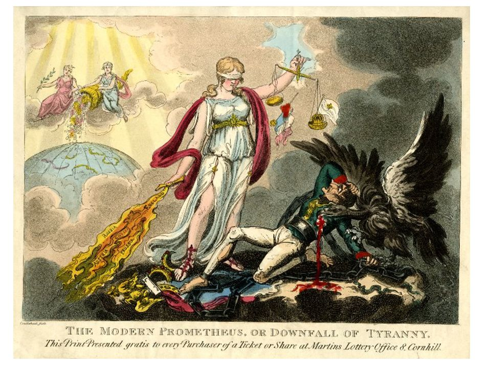 The Modern Promethesius or downfall of Tyranny 1814