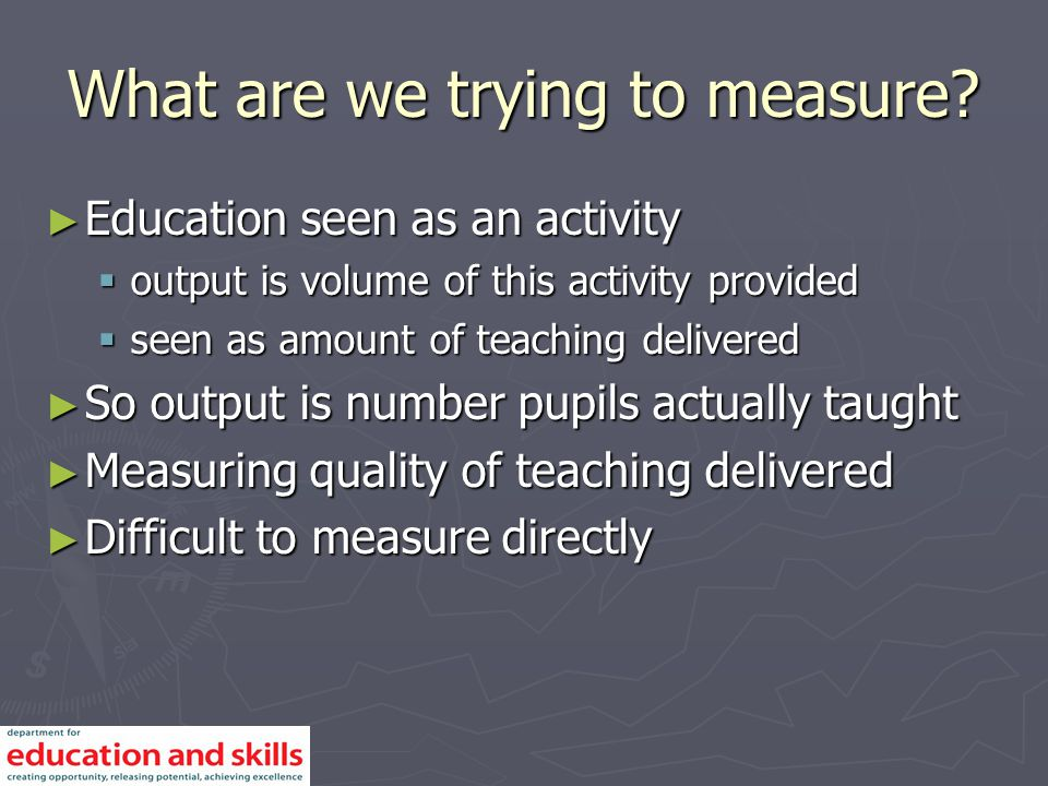 How can we measure it.