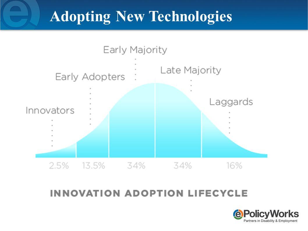Adopting New Technologies