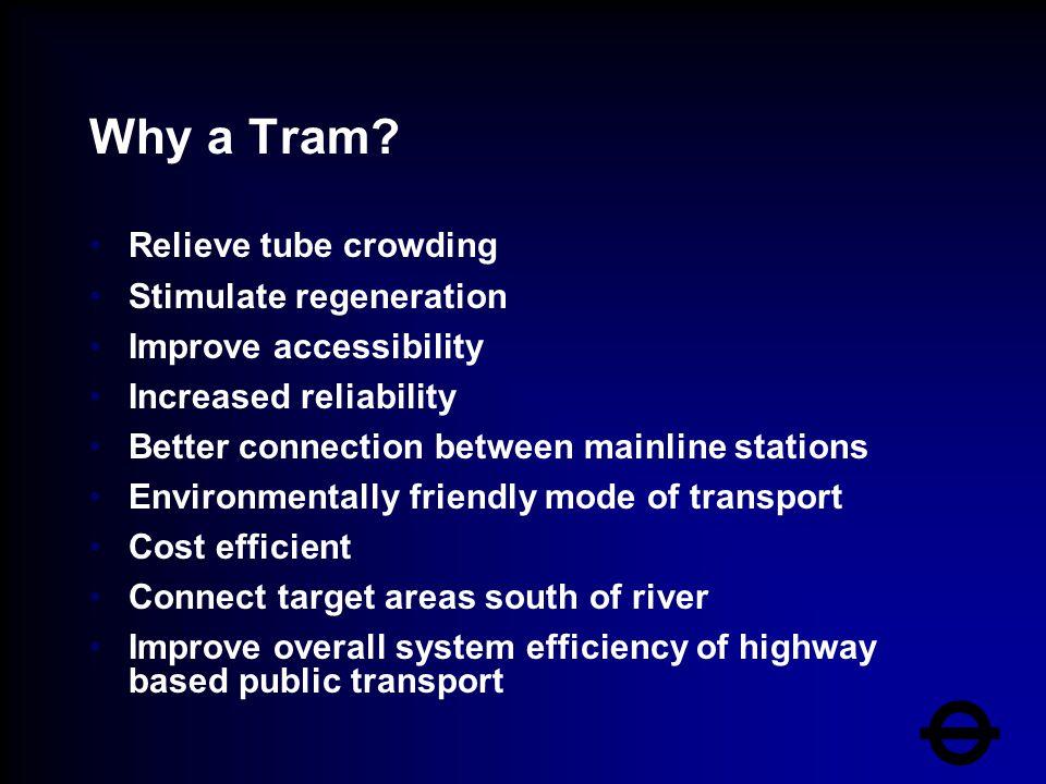 Why a Tram.