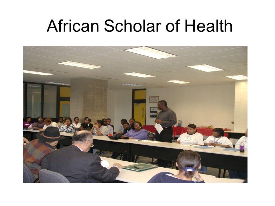African Scholar of Health