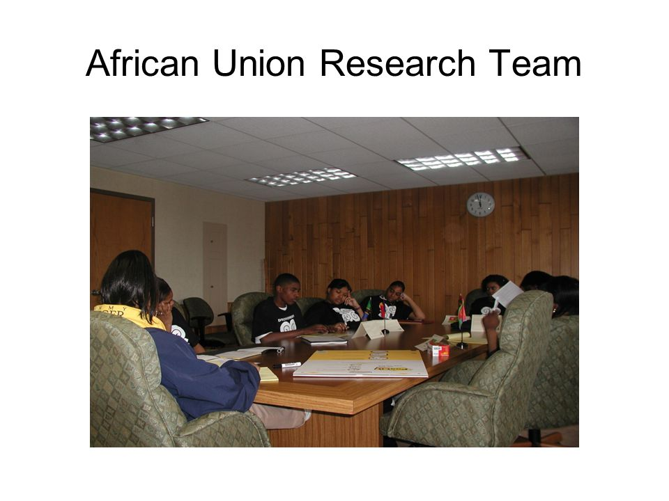 African Union Research Team