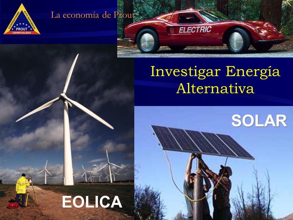 19 Investigar Energía Alternativa EOLICA SOLAR La economía de Prout