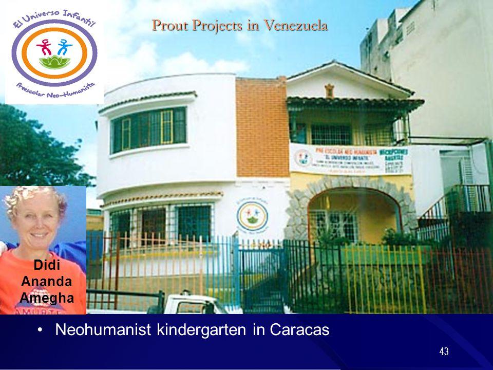 43 Neohumanist kindergarten in Caracas Didi Ananda Amegha Prout Projects in Venezuela