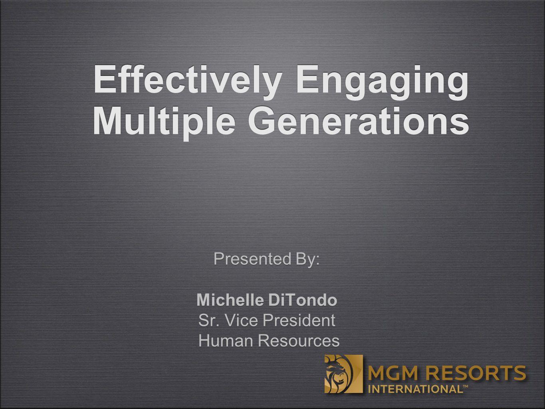 Presented By: Michelle DiTondo Sr.