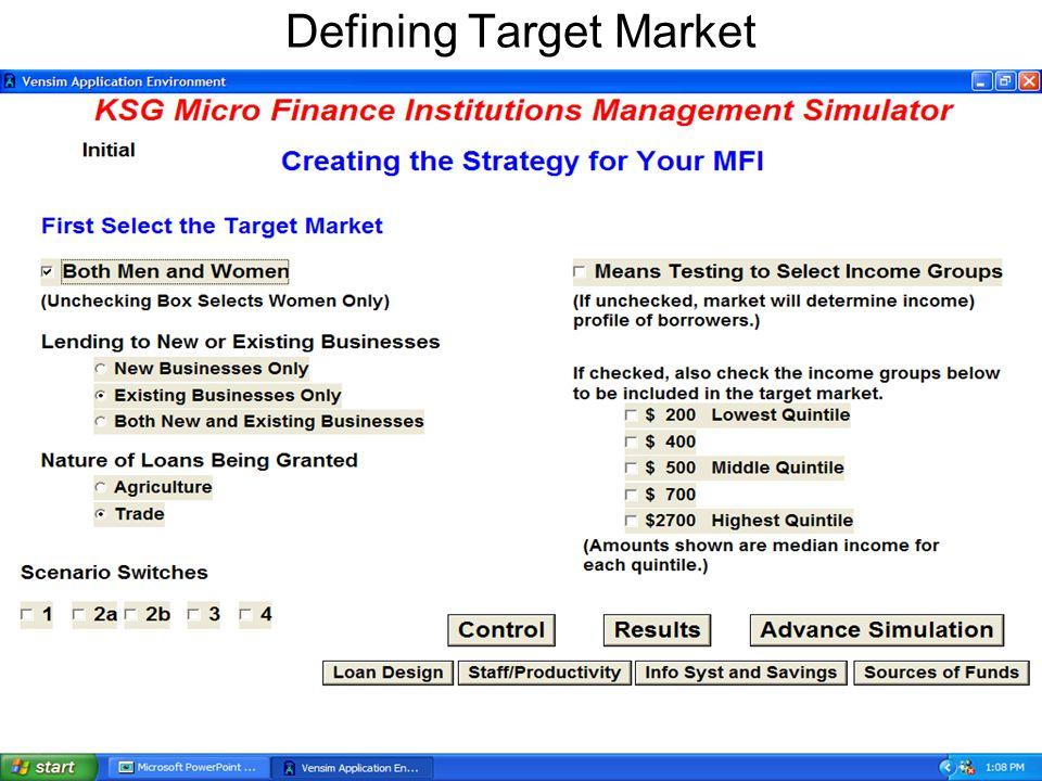 Defining Target Market