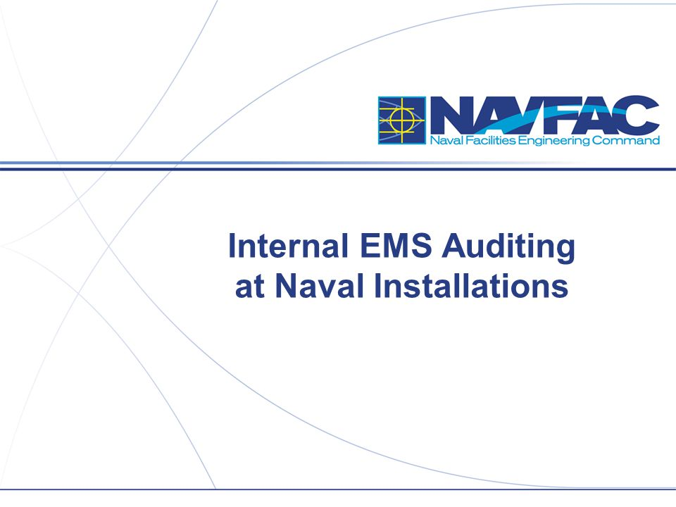 Internal EMS Auditing at Naval Installations