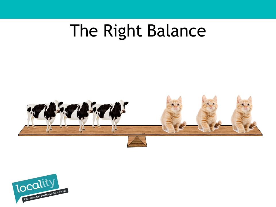 The Right Balance