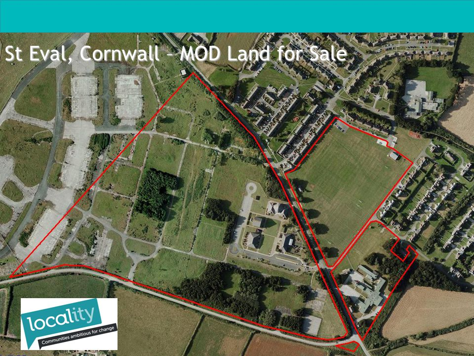 St Eval, Cornwall – MOD Land for Sale