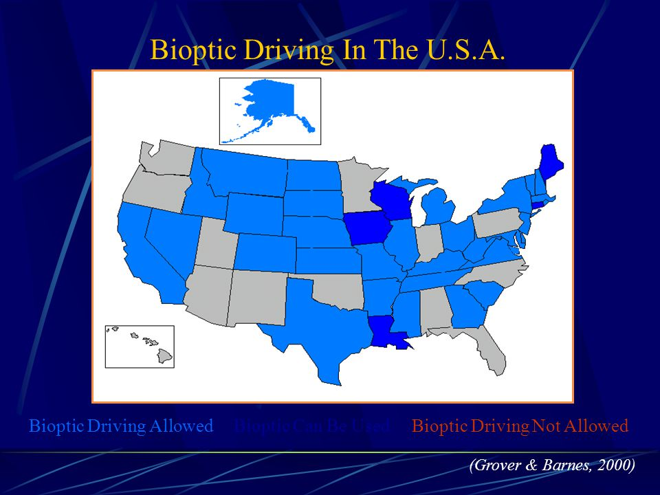 Bioptic Driving In The U.S.A.