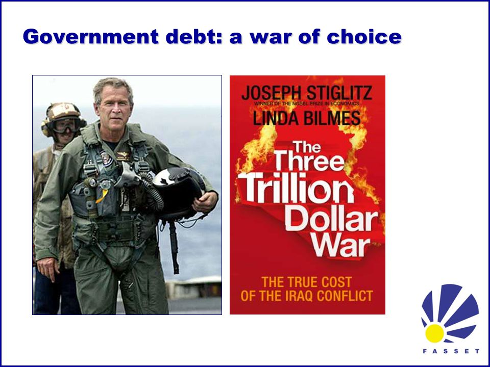 Government debt: a war of choice