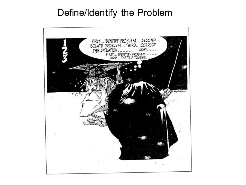 Define/Identify the Problem