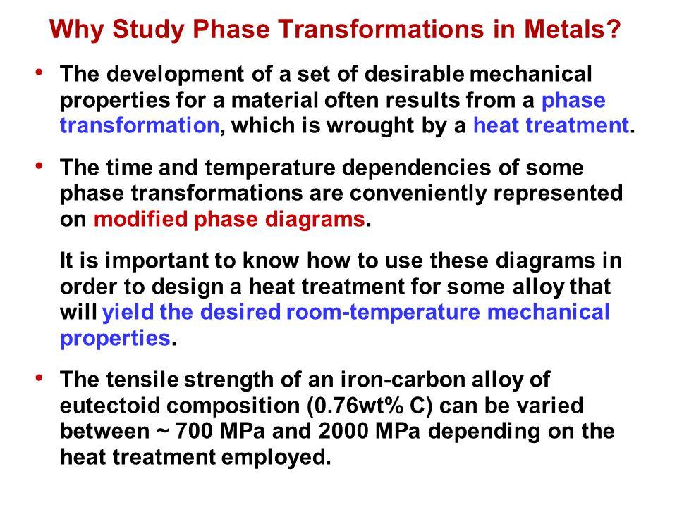 How to tailor mechanical properties of metallic materials.