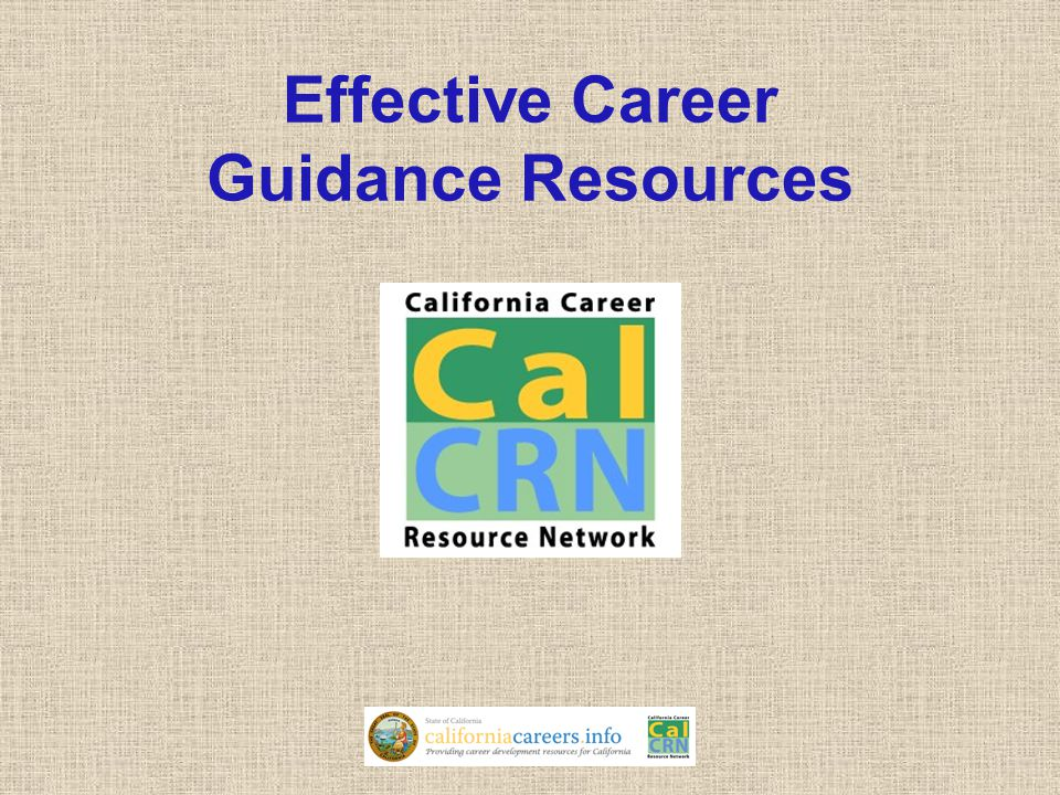 Effective Career Guidance Resources