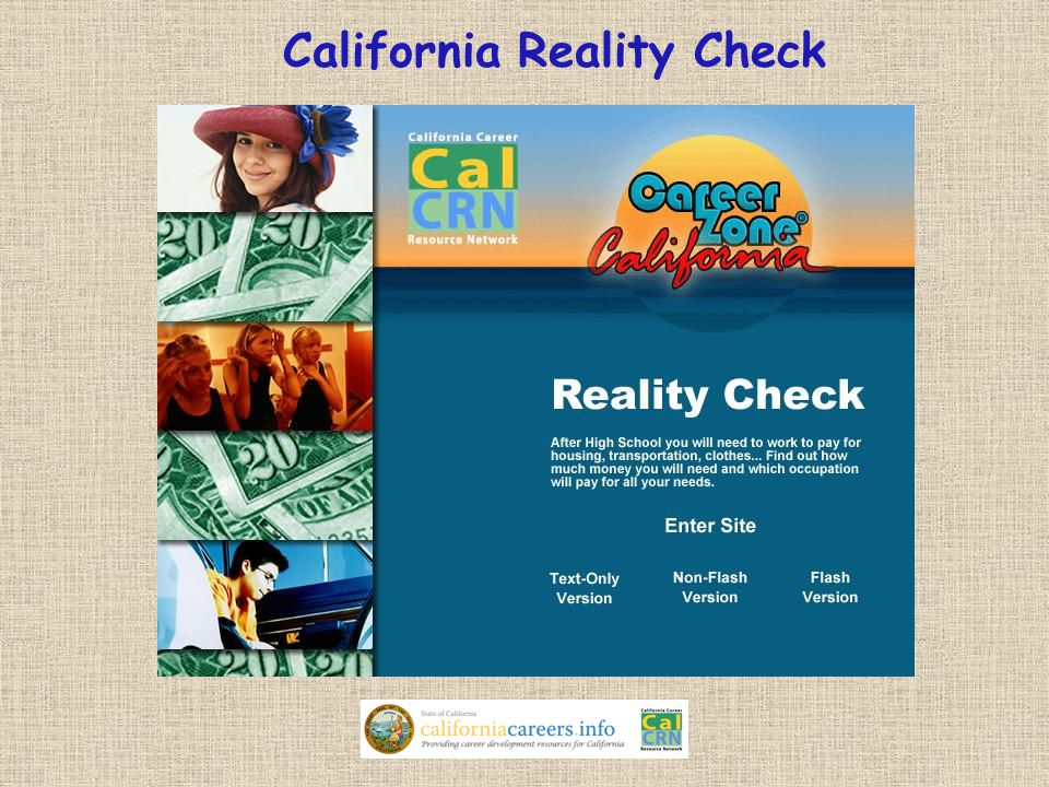 California Reality Check