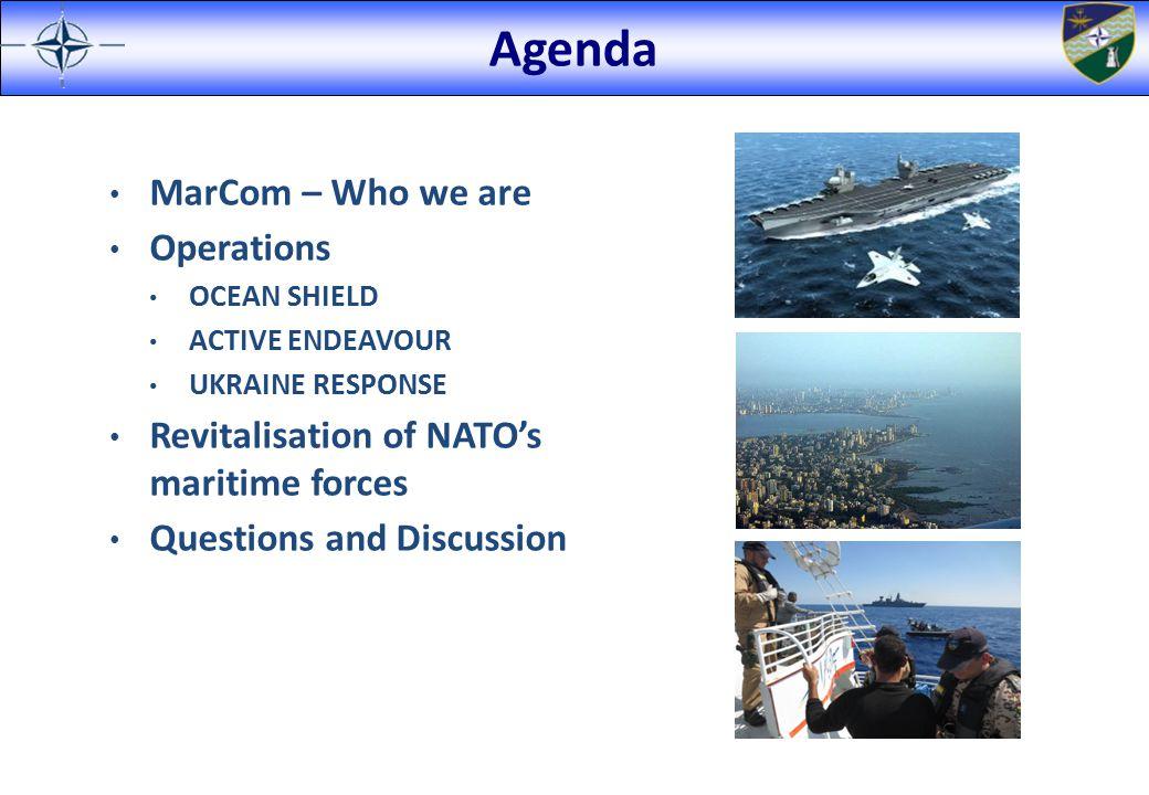 Maritime Assurance Measures Immediate Assurance post-Ukraine Crisis Baltic Presence – SNMCMG1 activation.