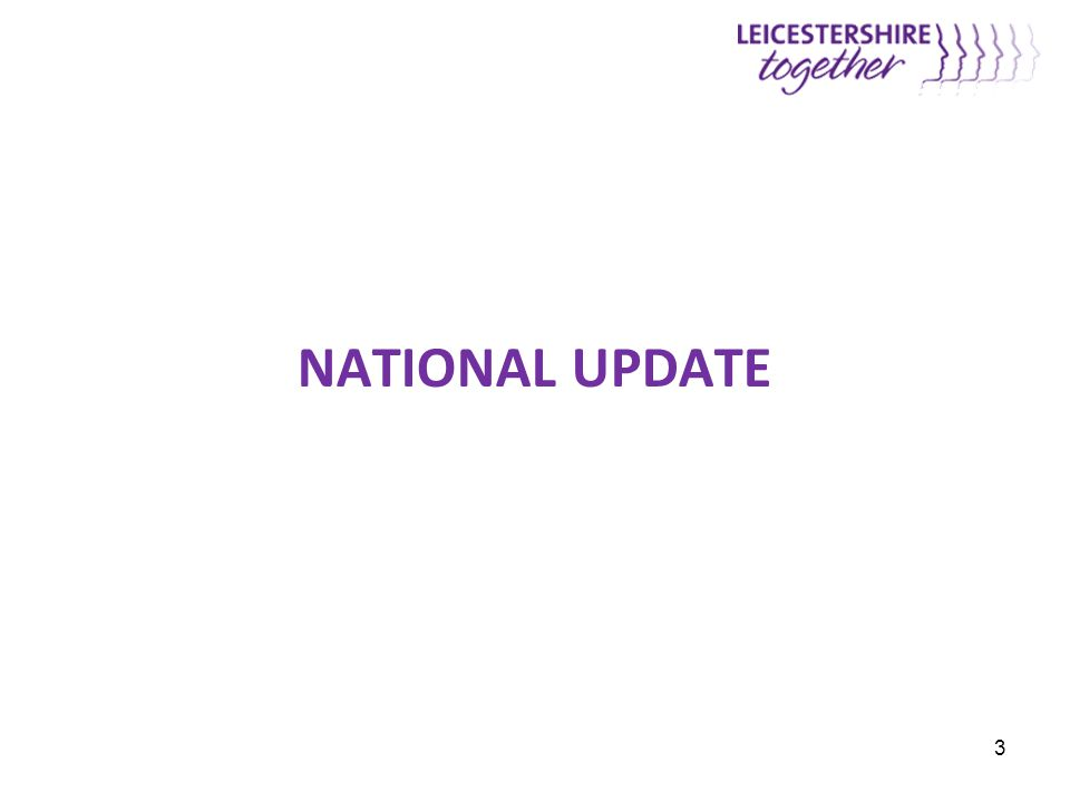 NATIONAL UPDATE 3