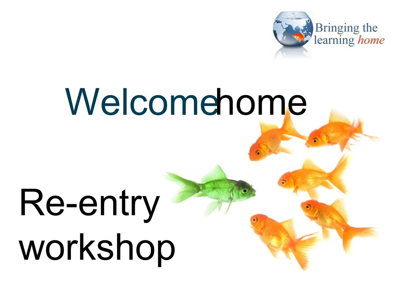 Closing slide Thank you! Re-entry workshop