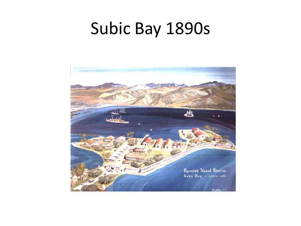 Subic Bay 1890s