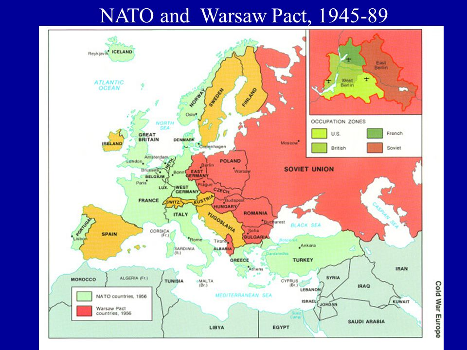 NATO and Warsaw Pact, 1945-89