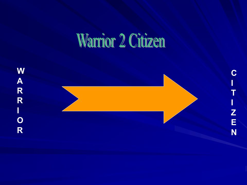 CITIZENCITIZEN WARRIORWARRIOR