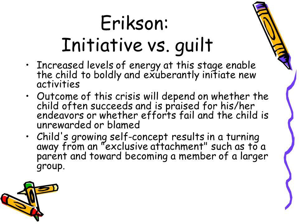 Erikson: Initiative vs.
