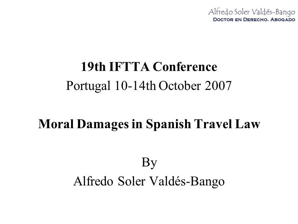 Alfredo Soler Valdés-Bango Doctor en Derecho.