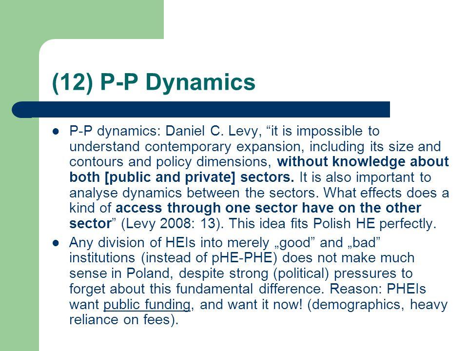 (12) P-P Dynamics P-P dynamics: Daniel C.
