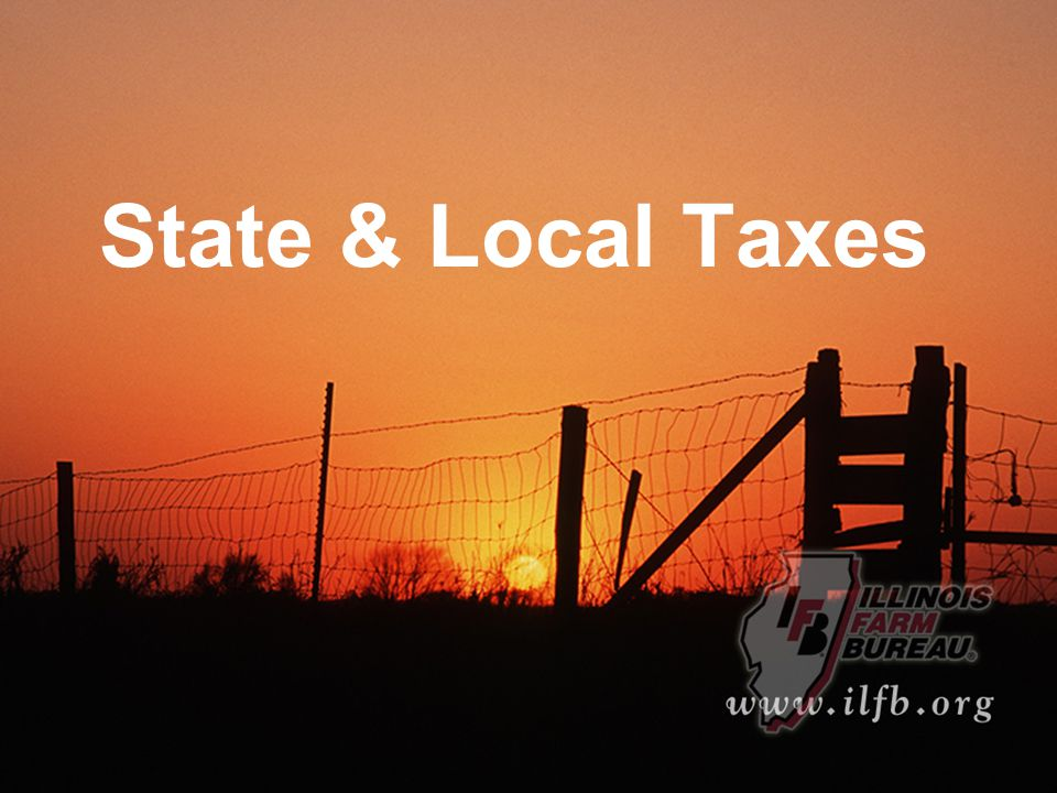 State & Local Taxes