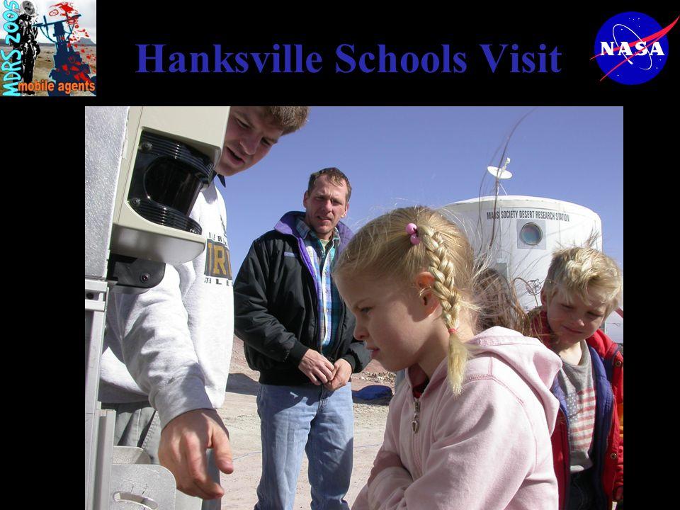 Hanksville Schools Visit