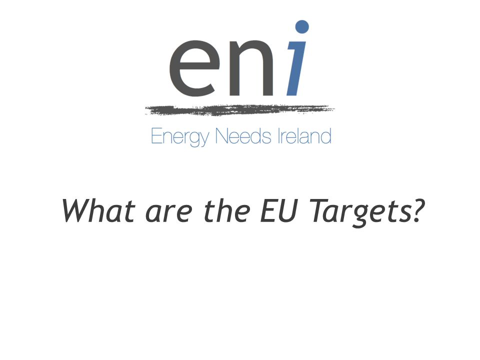 What are the EU Targets