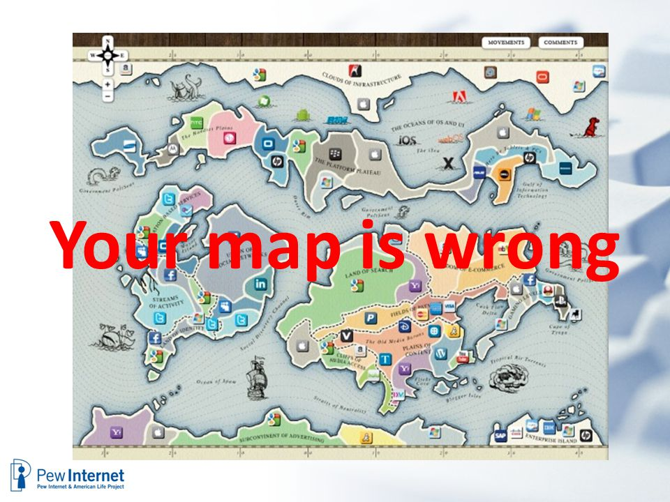 Your map is wrong