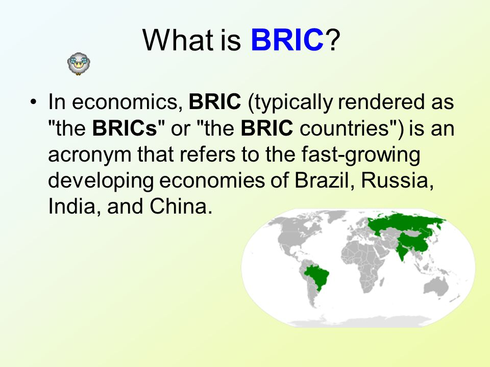 What is BRIC .