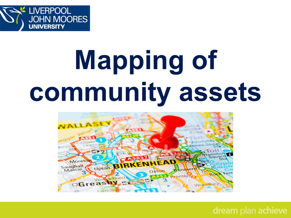 Mapping of community assets