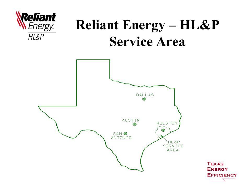 Reliant Energy – HL&P Service Area Texas Energy Efficiency