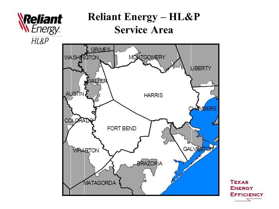 Reliant Energy – HL&P Service Area