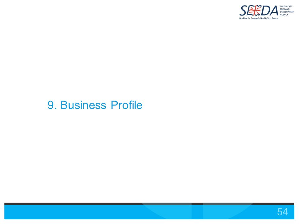 54 9. Business Profile
