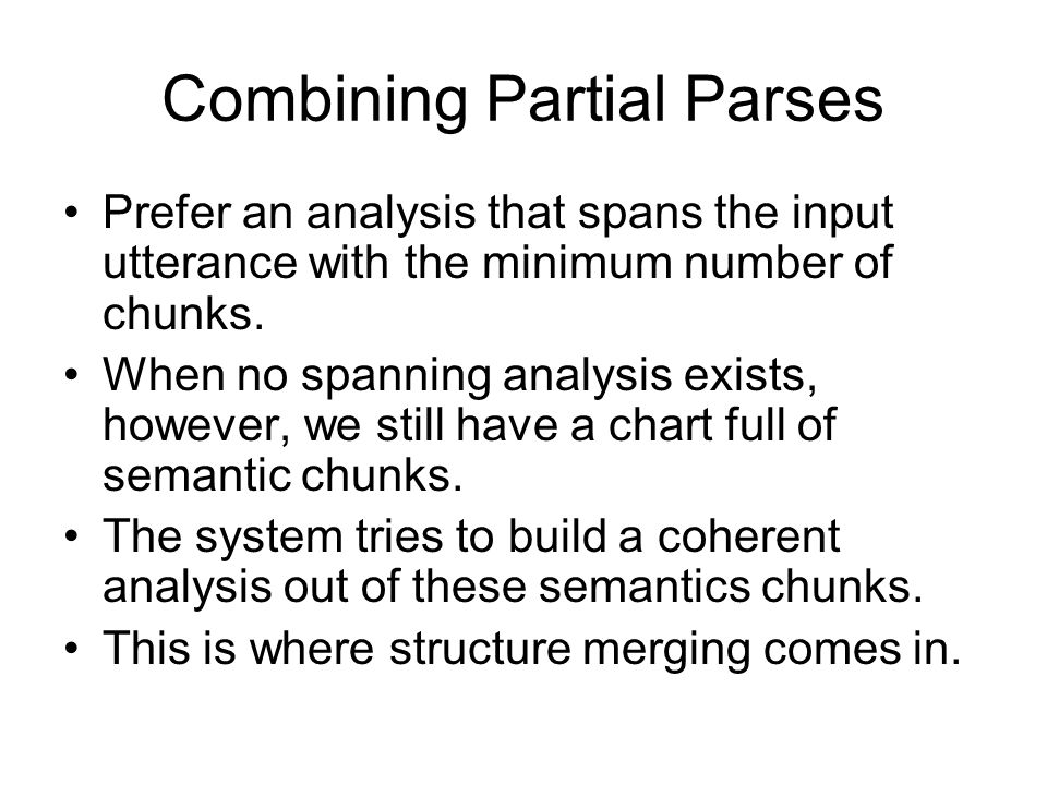 Chunk Chart Interface between chunking and structure merging Each edge is linked to its corresponding semantics. You want to put a cloth on your hand