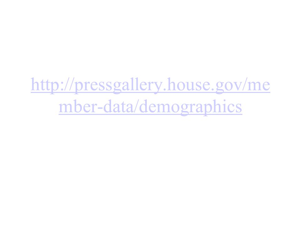 http://pressgallery.house.gov/me mber-data/demographics